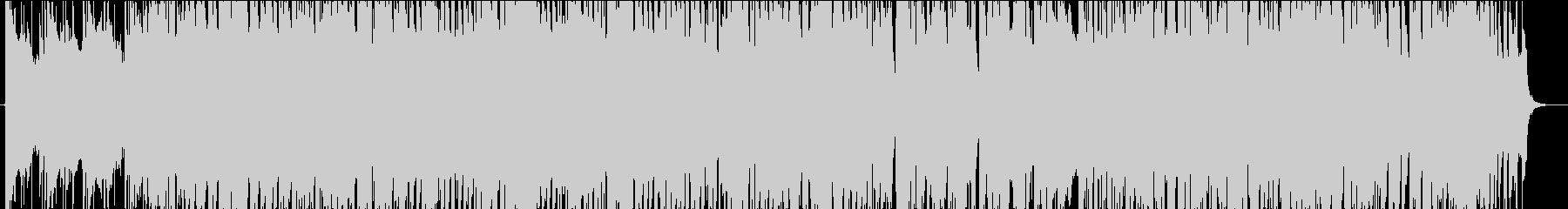 リゾートを意識したリラックスBGMの未再生の波形