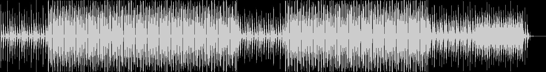 前向きなチップチューンBGMですの未再生の波形