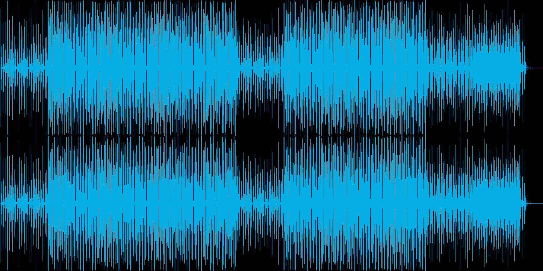 前向きなチップチューンBGMですの再生済みの波形