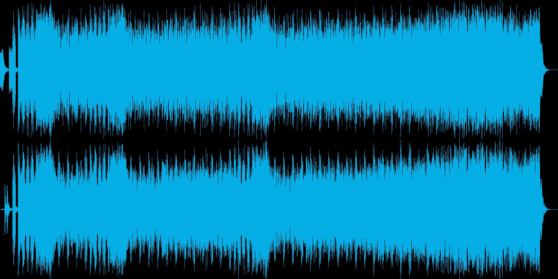 和楽器をイメージしたシンセサウンドを使…の再生済みの波形
