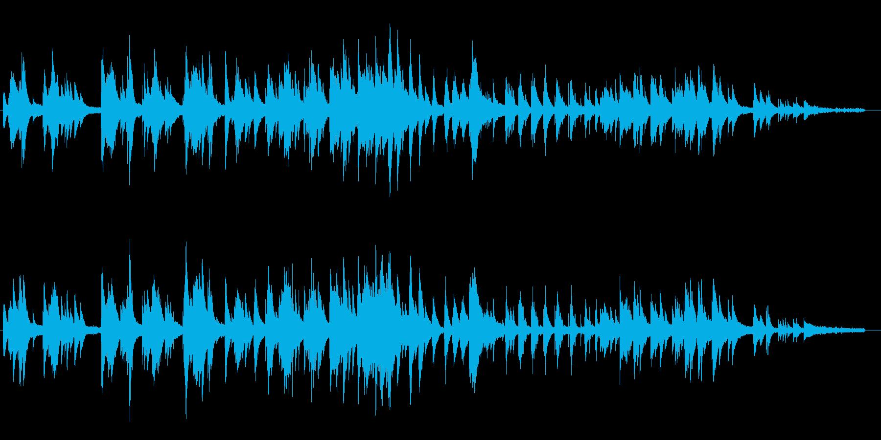 大人な雰囲気のピアノ・ソロ即興曲の再生済みの波形