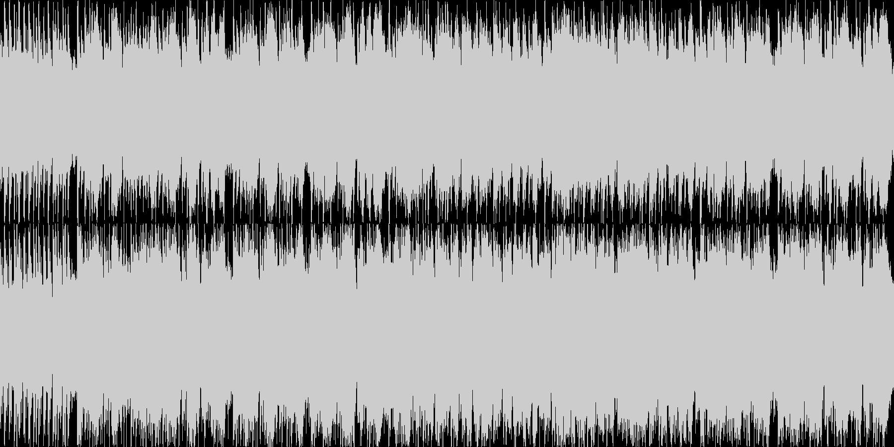 スペイン風のトロンボーンとギターの短調の未再生の波形