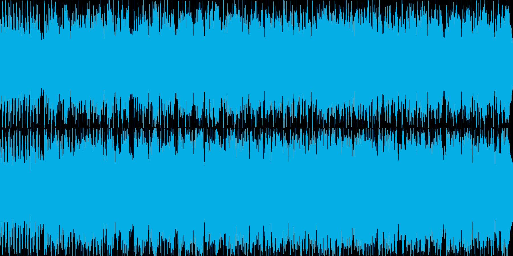 スペイン風のトロンボーンとギターの短調の再生済みの波形