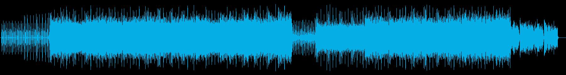 不思議でメロ―なシンセサウンドの再生済みの波形