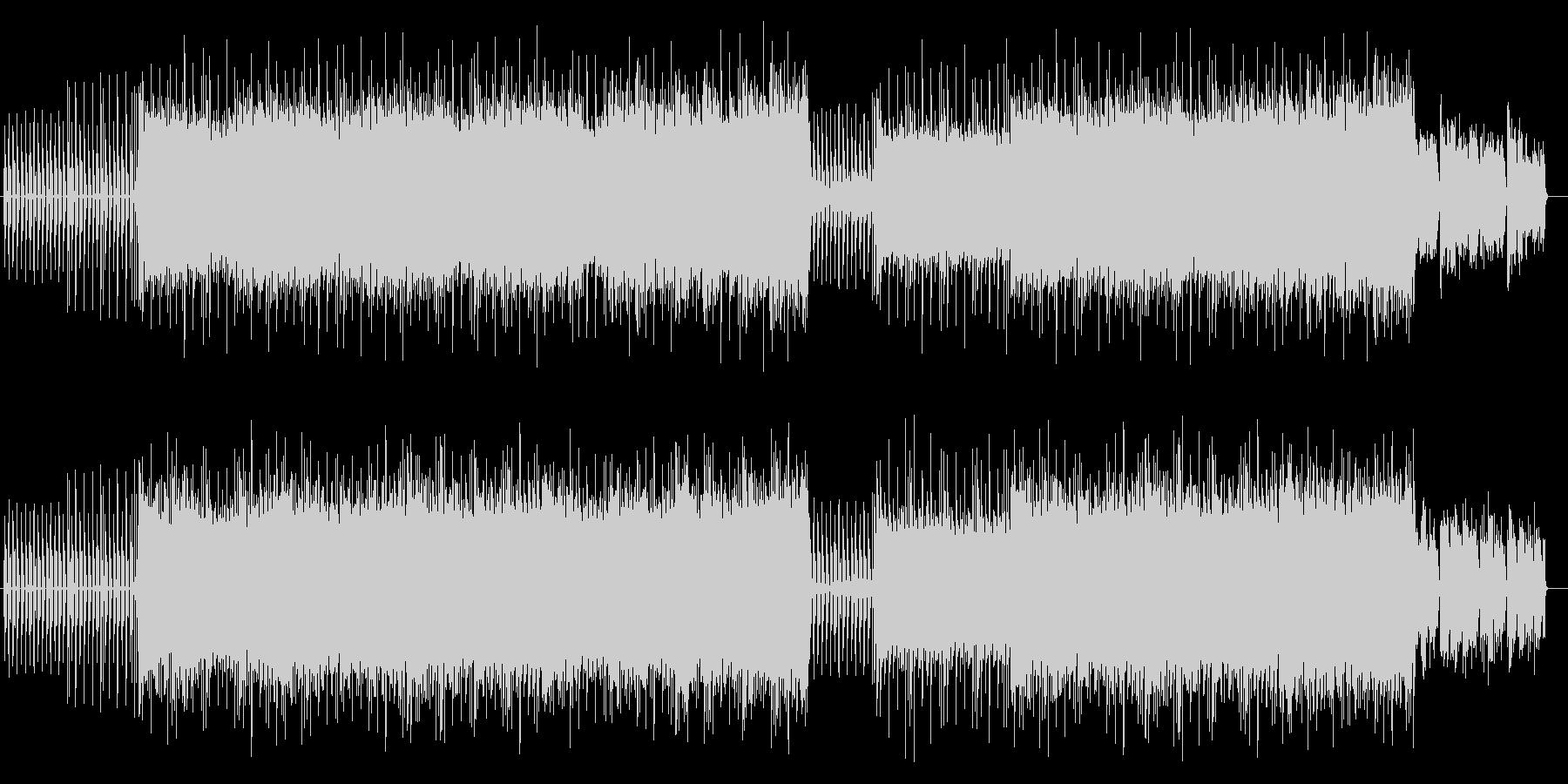 不思議でメロ―なシンセサウンドの未再生の波形