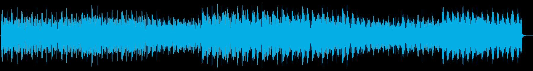 センセーショナルトランスミュージックの再生済みの波形
