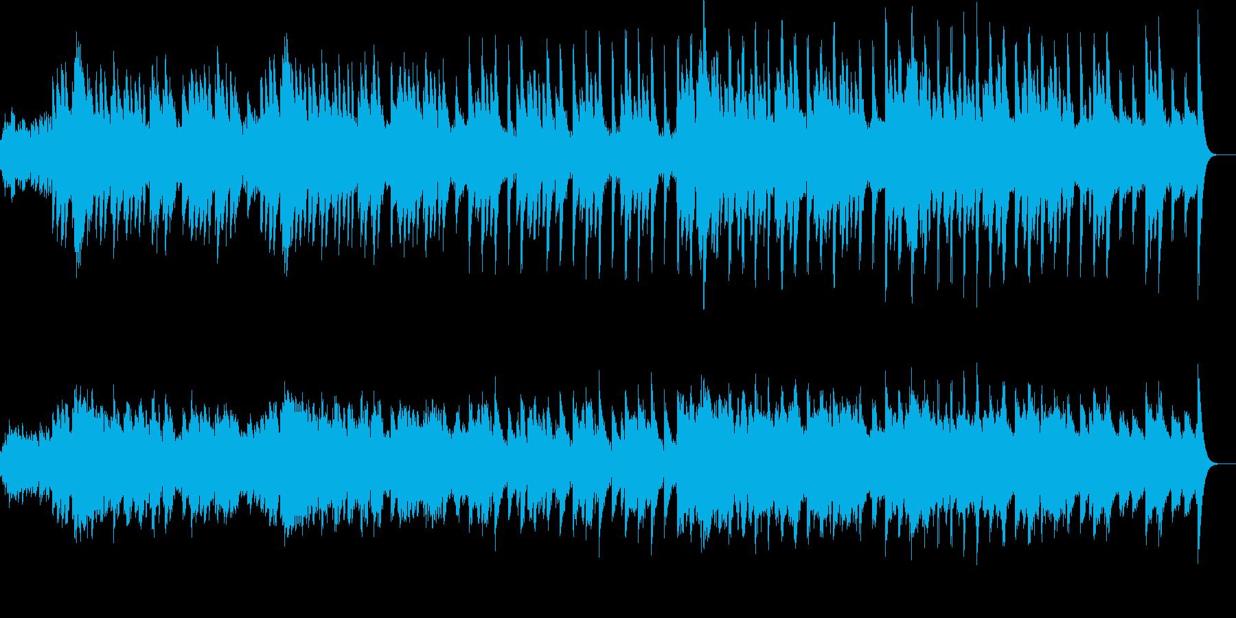 切ない感じのオルゴールのオリジナル曲ですの再生済みの波形