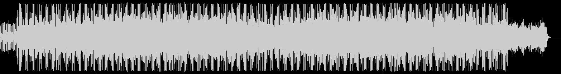 リズミカルでミディアムテンポなサウンドの未再生の波形
