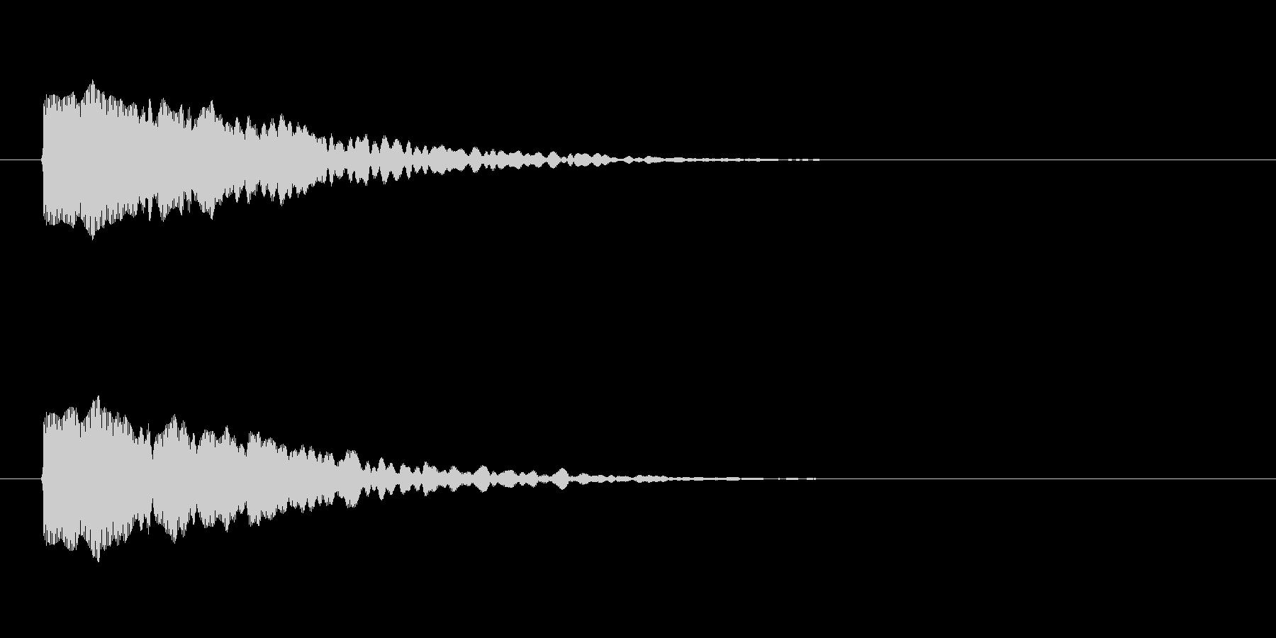 【光る02-1】の未再生の波形