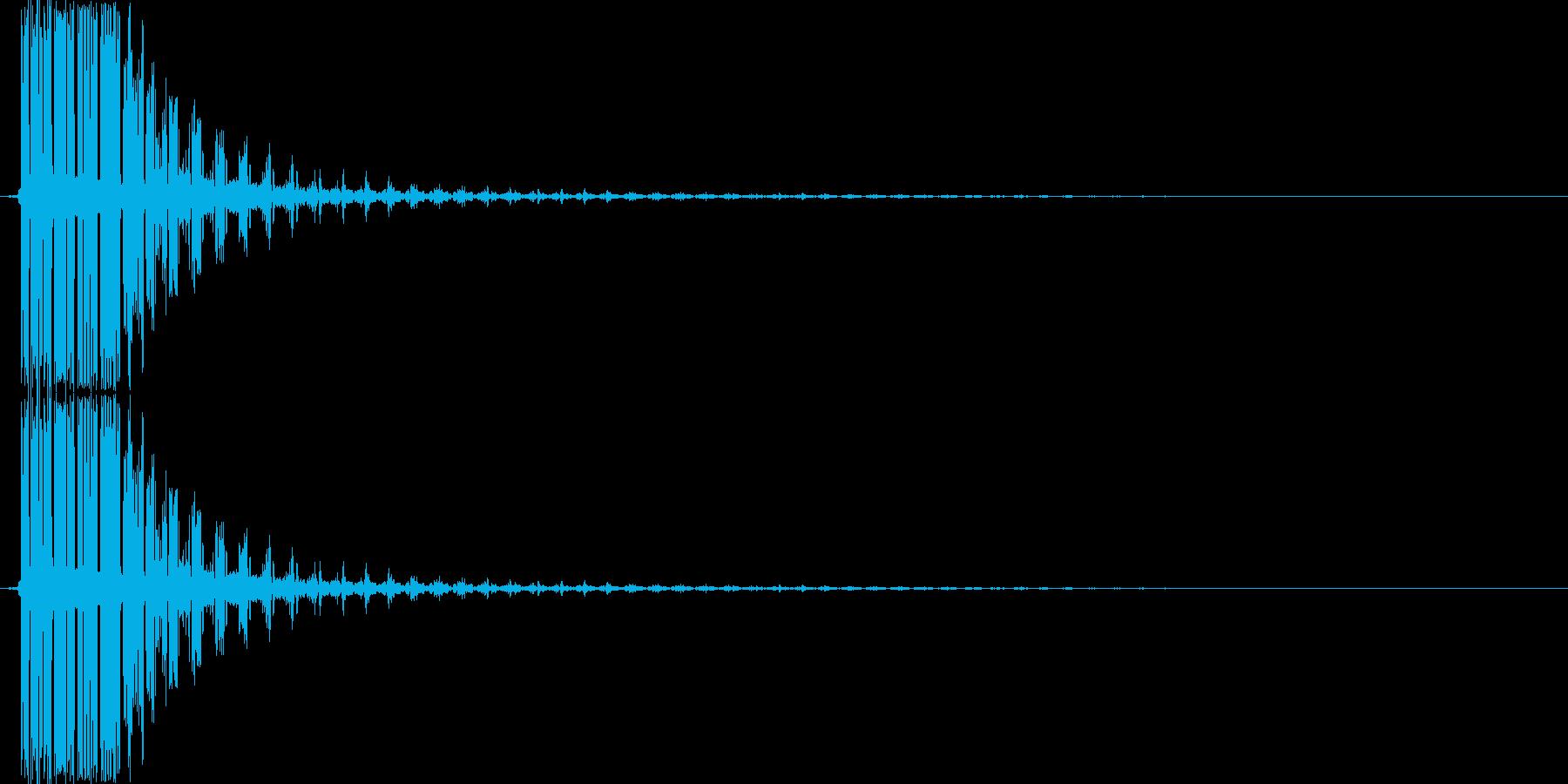ピシューン(ショット音、シューティング)の再生済みの波形