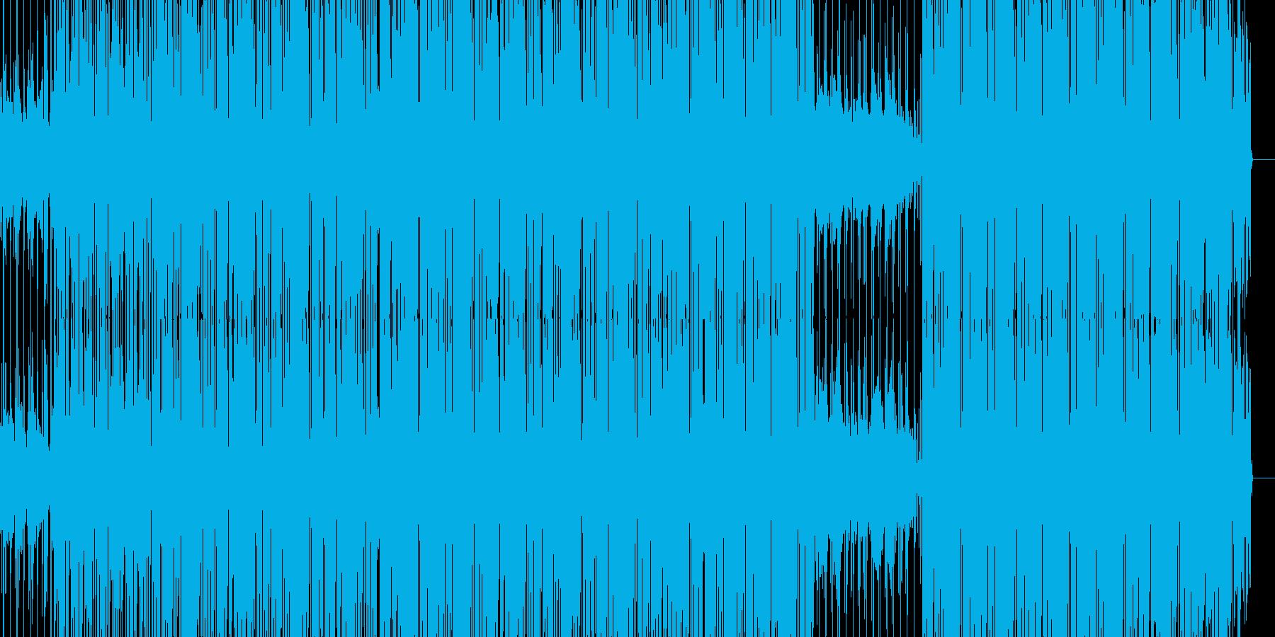 ダークでHiphopな感じのBGMの再生済みの波形