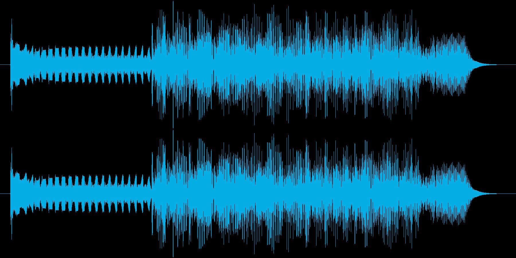 ピー、ガー(レトロなコンピューター)の再生済みの波形