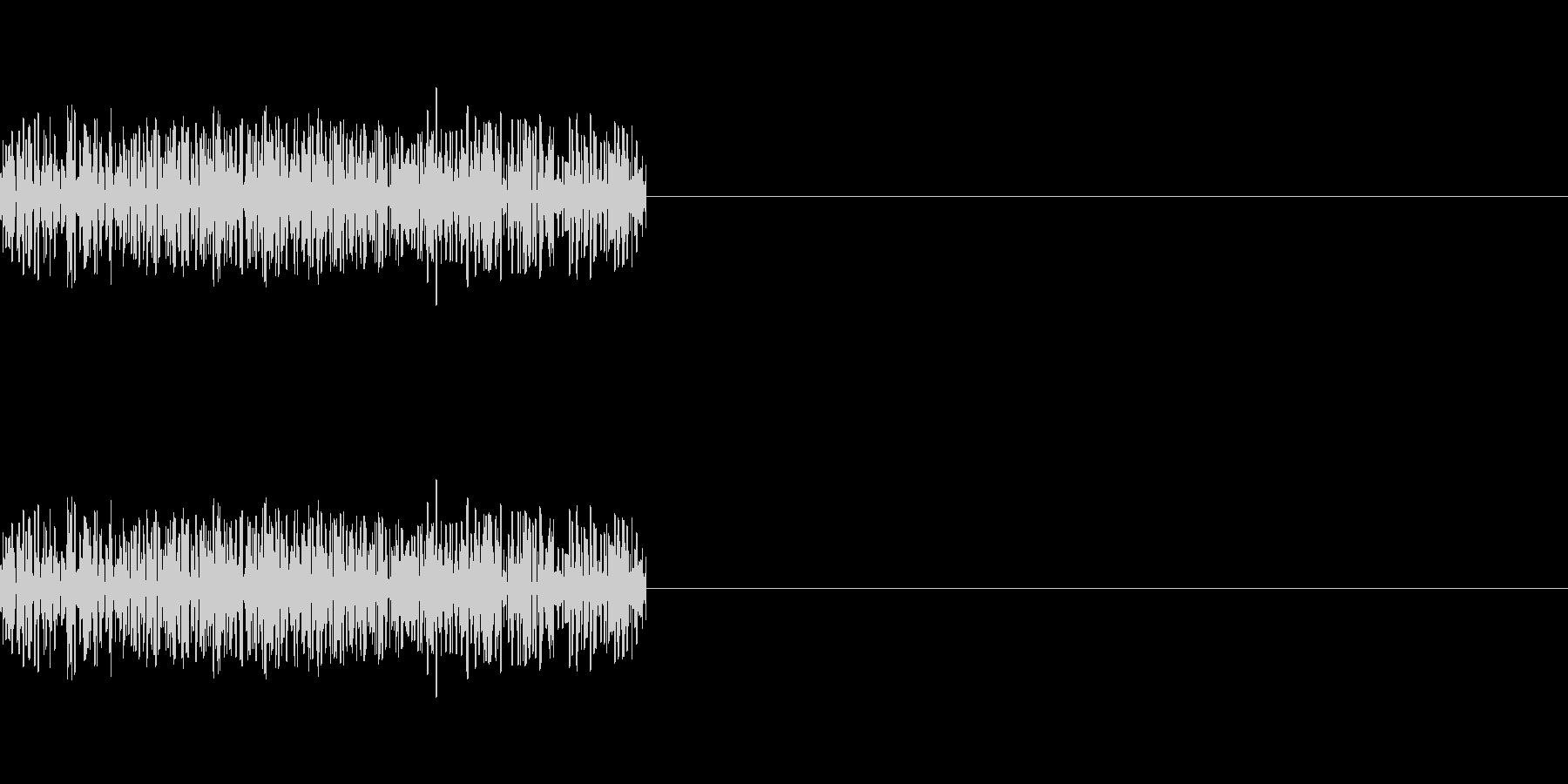「ザッ」「ジャッ」レトロゲーム風剣の攻撃の未再生の波形