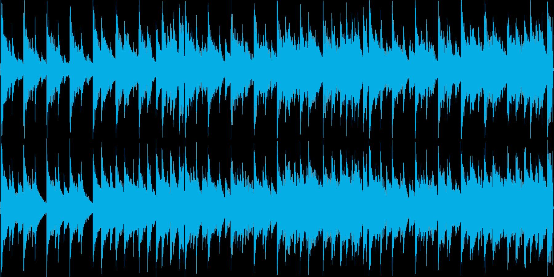 8bitチューンのRPG風フィールド用3の再生済みの波形