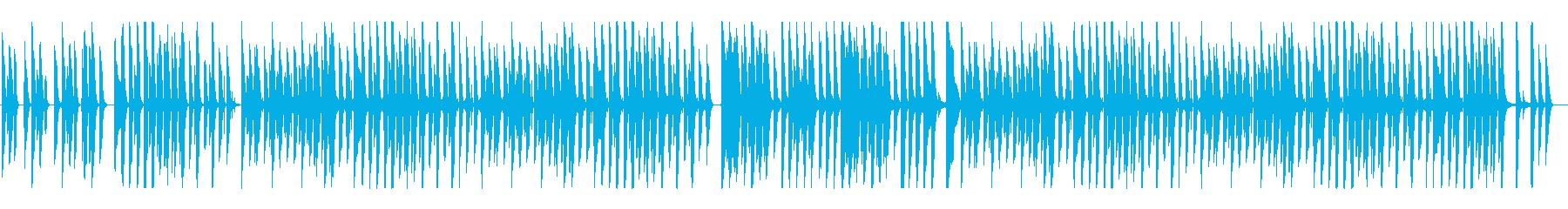 日向ぼっこのような、ほのぼの日常系BGMの再生済みの波形