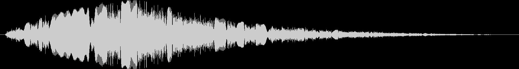 ピコピコピコピコの未再生の波形