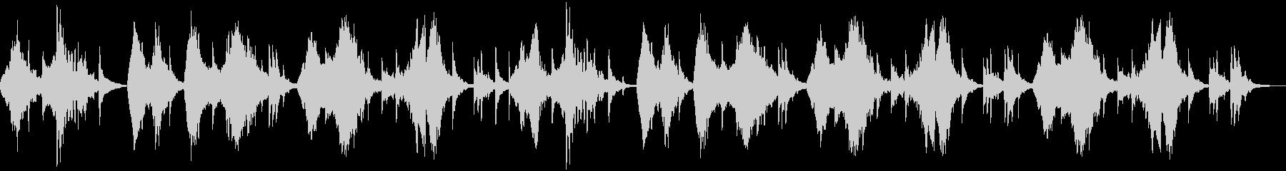 二胡と琵琶による古風な中国風のBGMですの未再生の波形