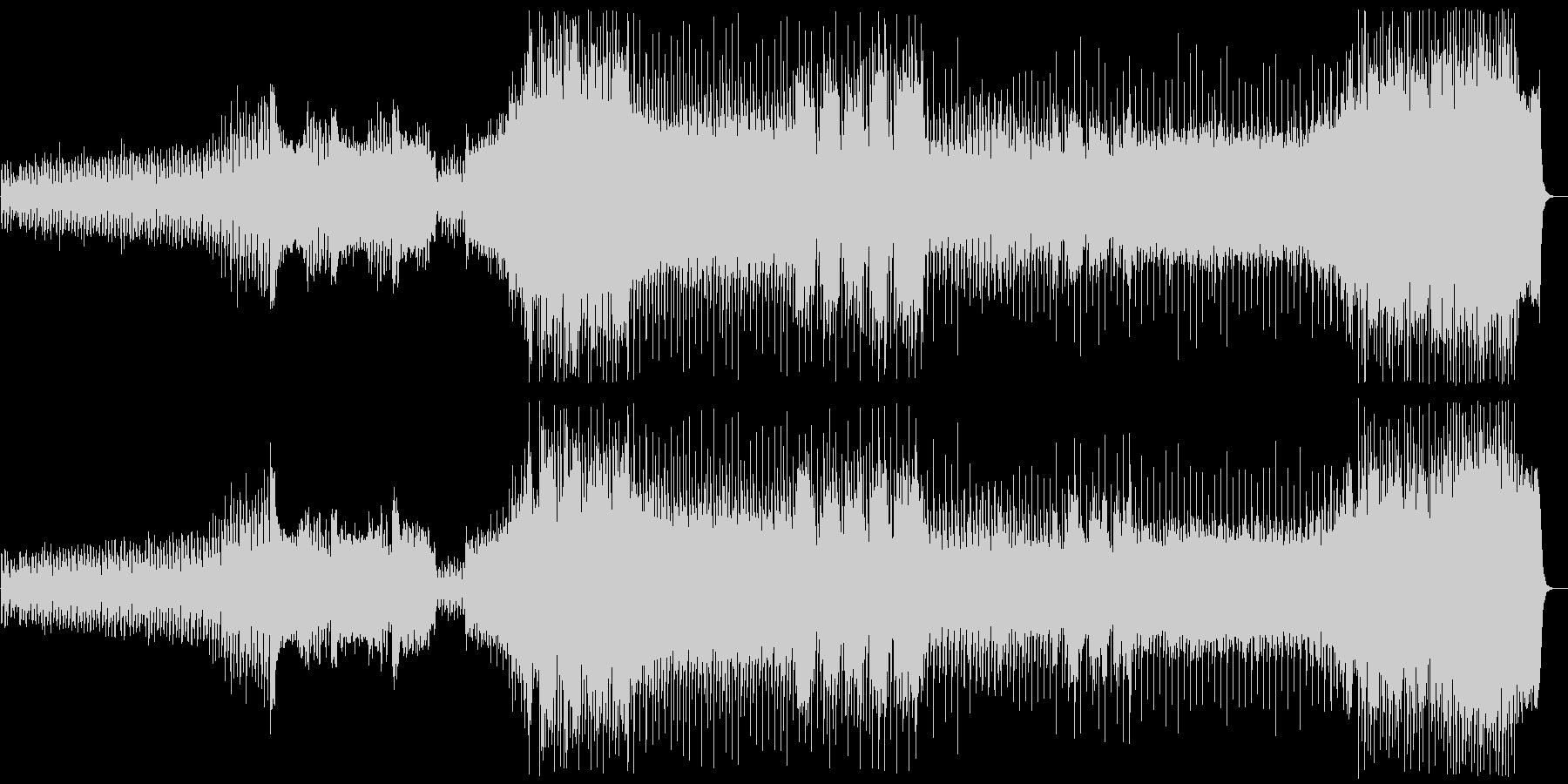 『冬』 第1楽章+リズムアレンジの未再生の波形
