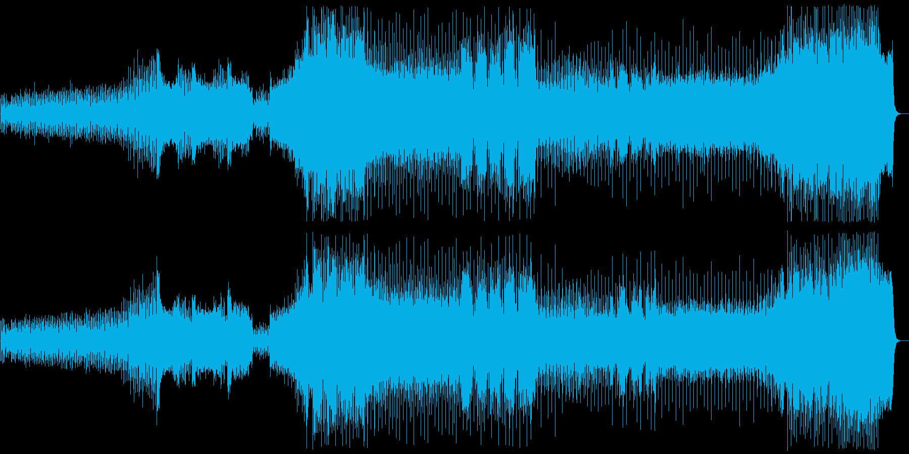 『冬』 第1楽章+リズムアレンジの再生済みの波形