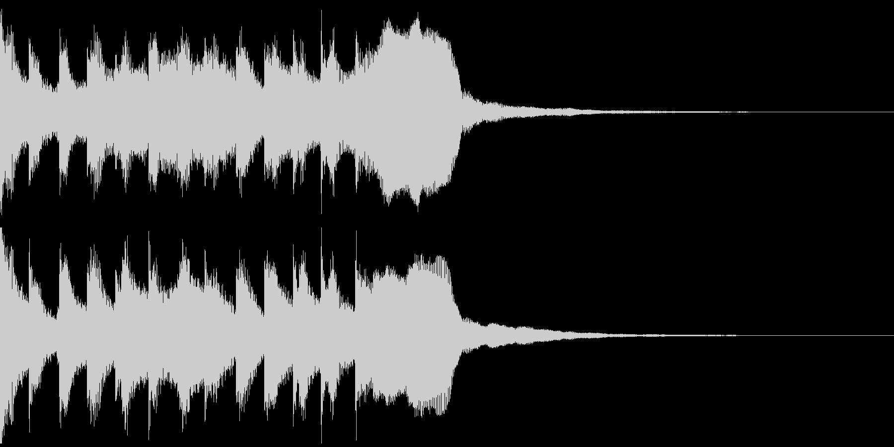 サウンドロゴ、ゴージャス感、verFの未再生の波形