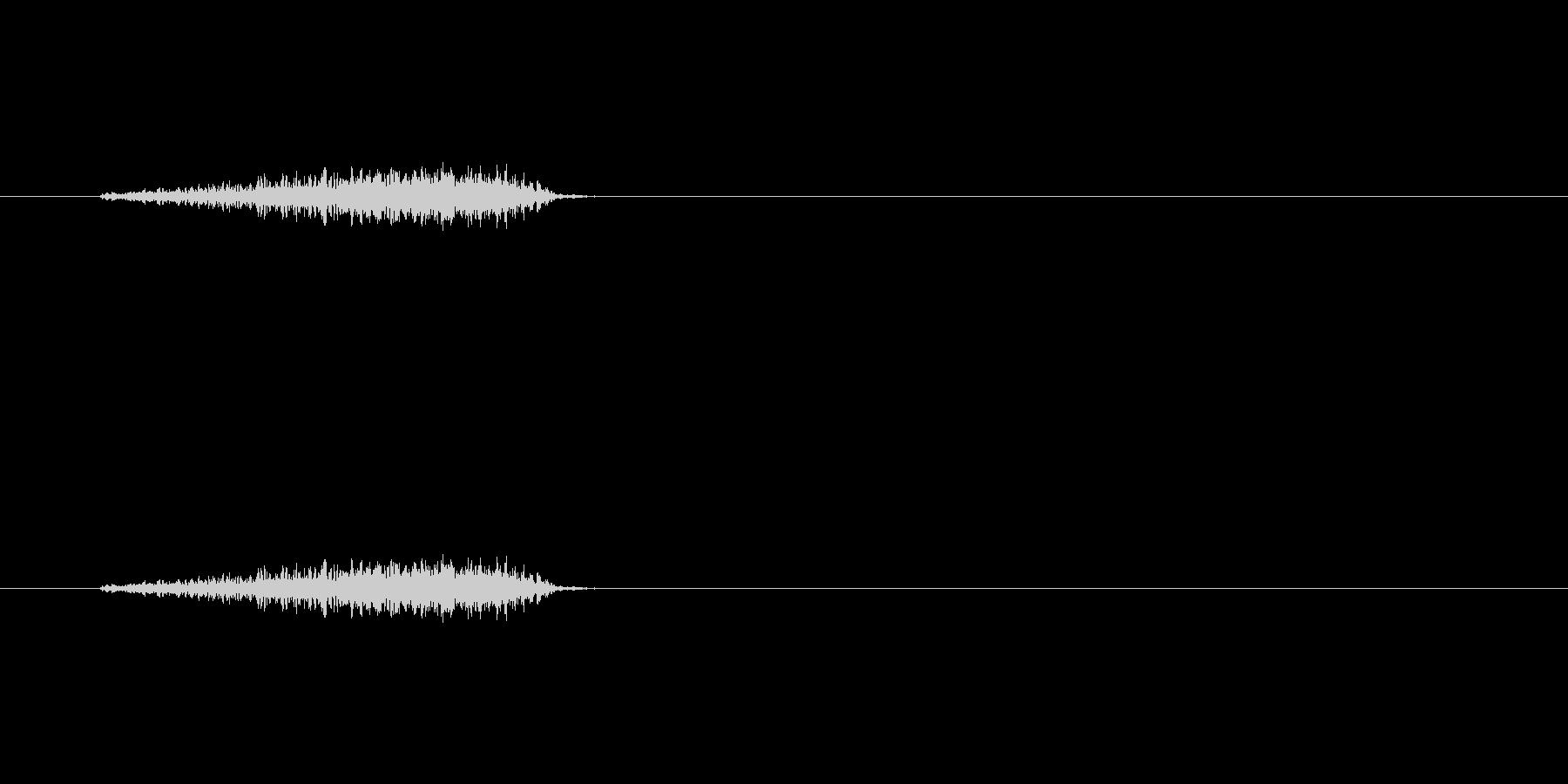 【フェルトペン01-1(直線)】の未再生の波形