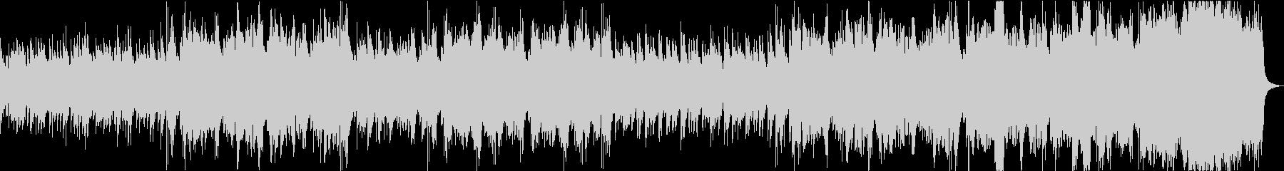 昭和ノスタルジィ・胡弓と和楽器のBGMの未再生の波形