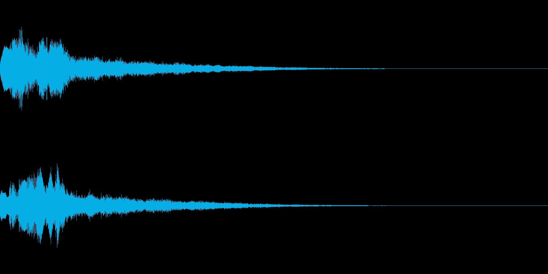 タラララララーンの再生済みの波形