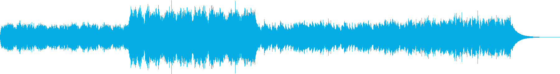 ふわふわ怪しいオーケストラの再生済みの波形