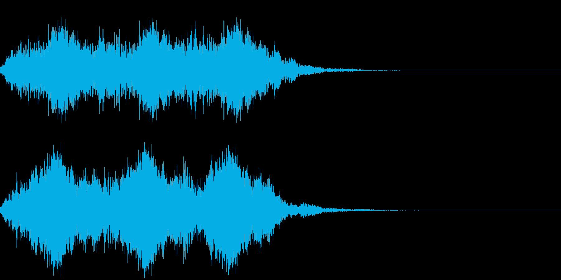 注意、警告音、警報の効果音です!16の再生済みの波形