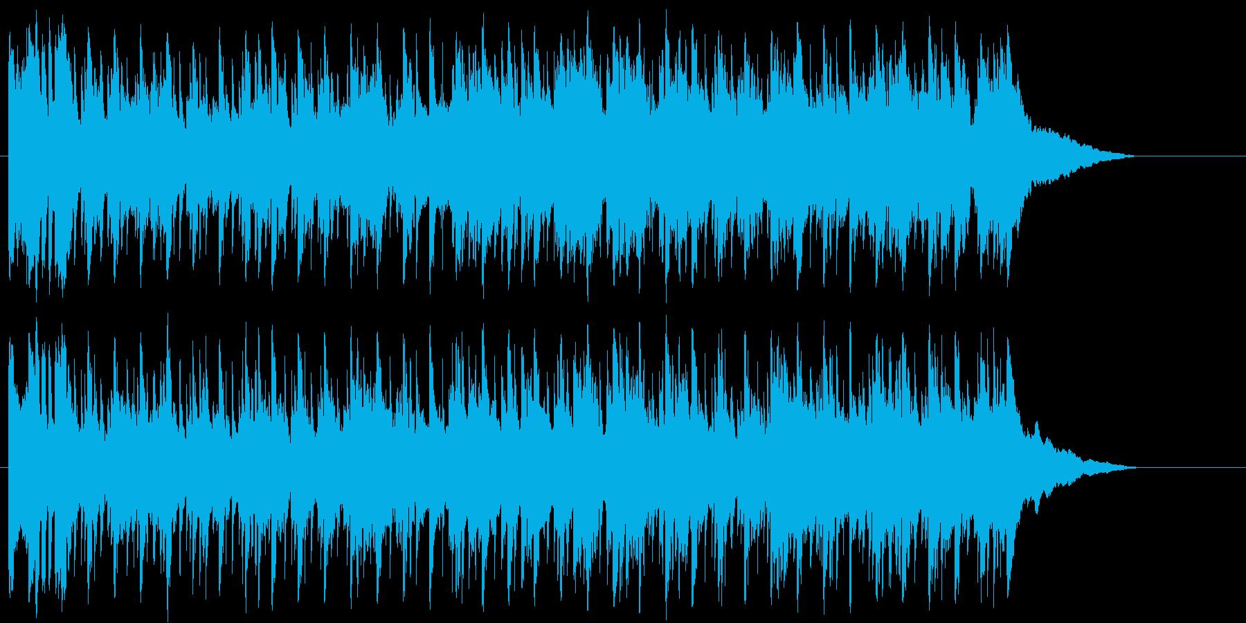 エンディング 穏やか 切ない ゆったりの再生済みの波形