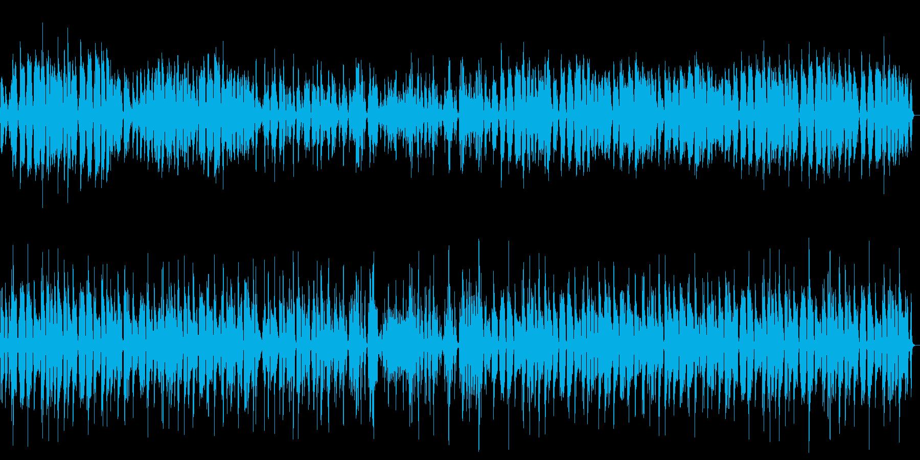 居酒屋でのジャズ演奏の再生済みの波形