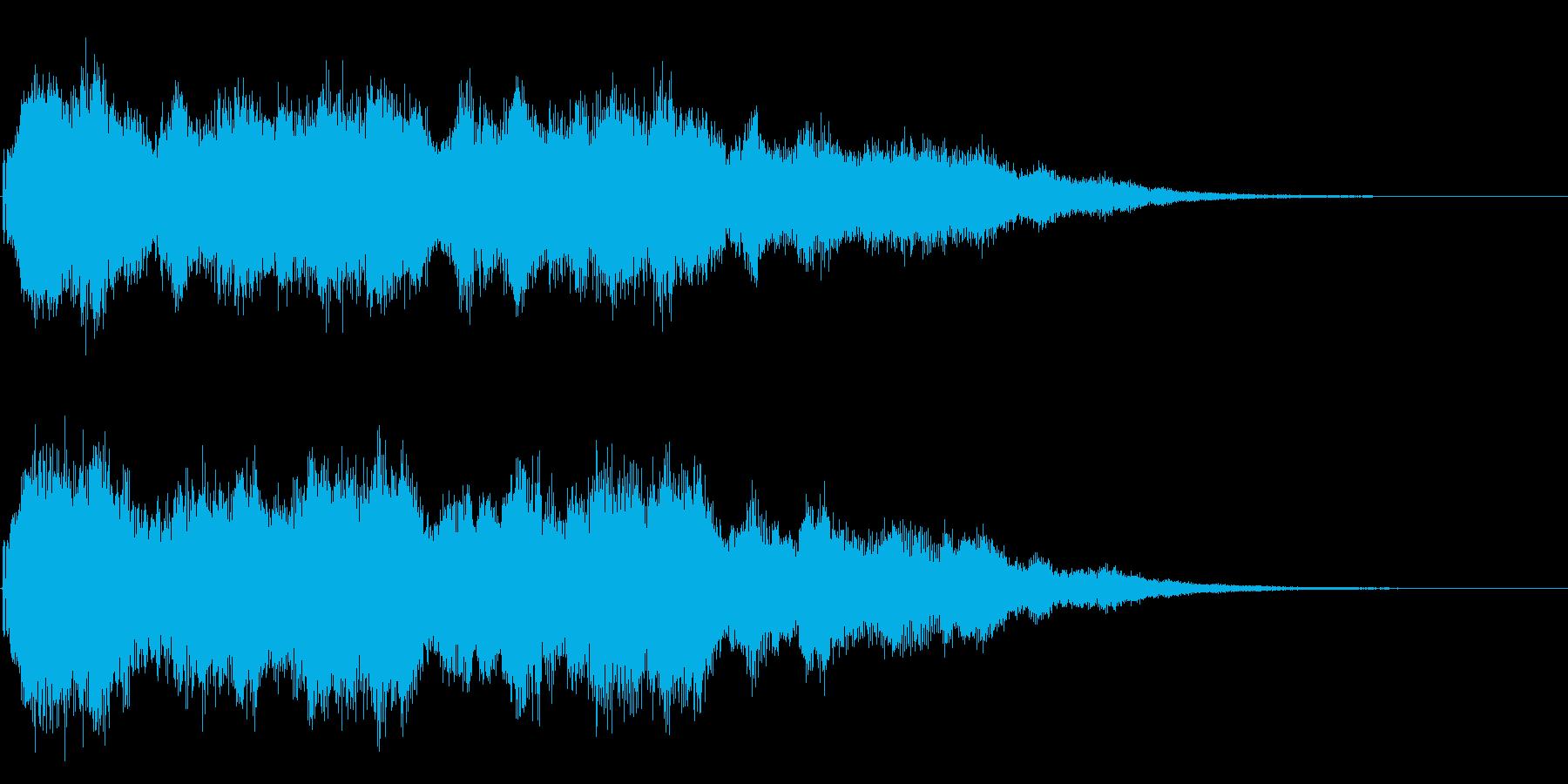 結婚式や教会の鐘の音として最適です!02の再生済みの波形