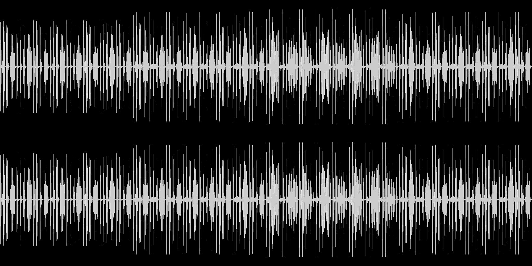 RPGのダンジョン内風BGM(loop)の未再生の波形