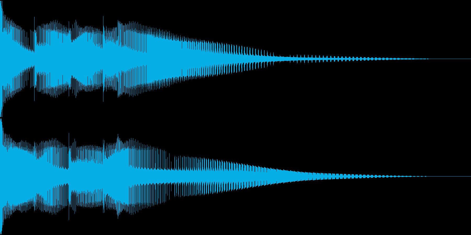 Henteko 可愛いクラッシュ音 5の再生済みの波形