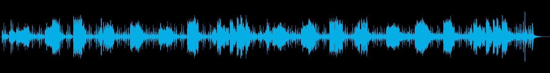 何気ない静かな日常で品のいいBGMの再生済みの波形