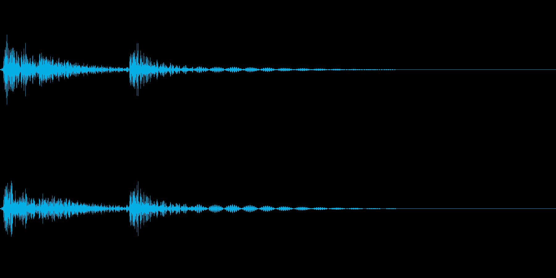 [カチッ]ボタン押下・タップ(コミカル)の再生済みの波形