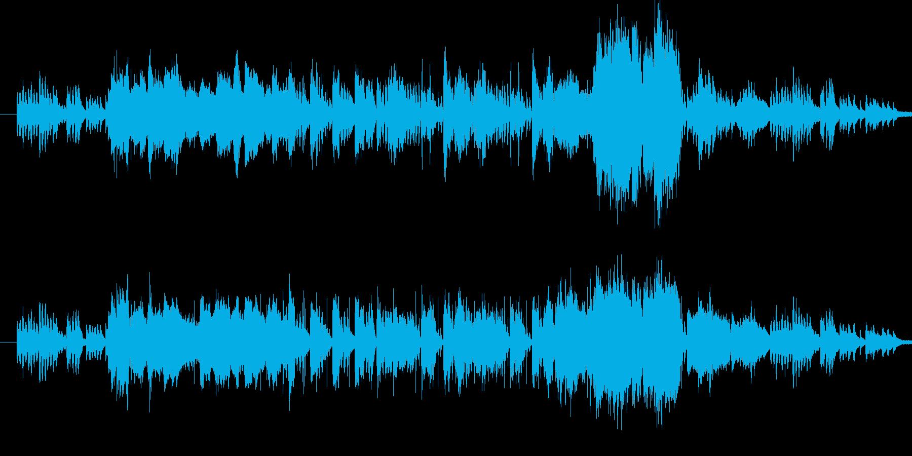 江戸時代をイメージしたほのぼのとした和…の再生済みの波形