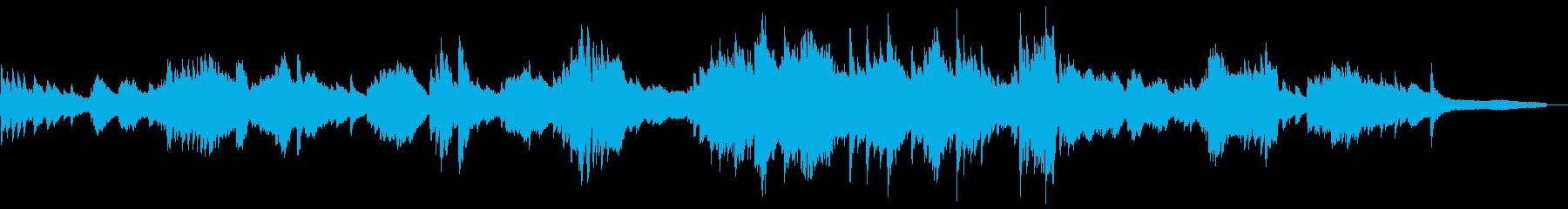 和風のしっとりした雰囲気3-ピアノソロの再生済みの波形