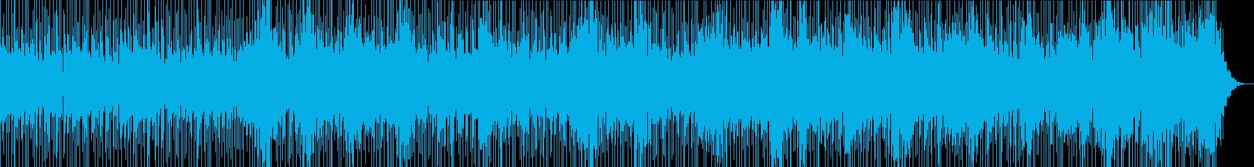 怪しげな雰囲気のミステリアスな楽曲の再生済みの波形