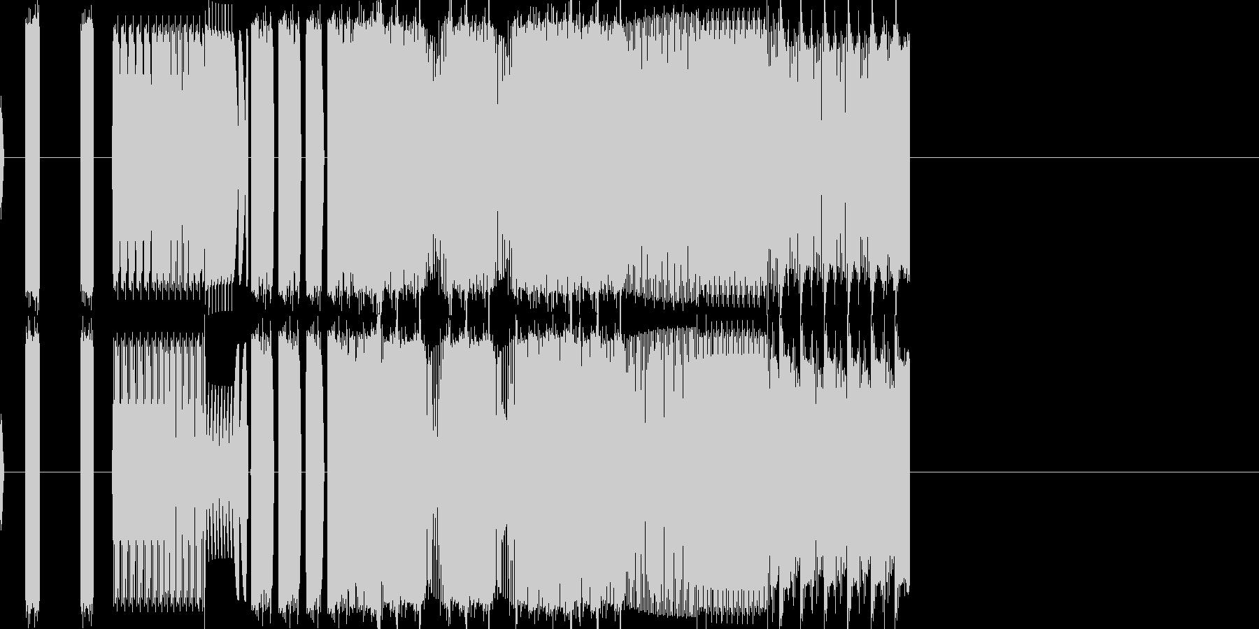 バグ bug 音 (pc AI 機械)の未再生の波形