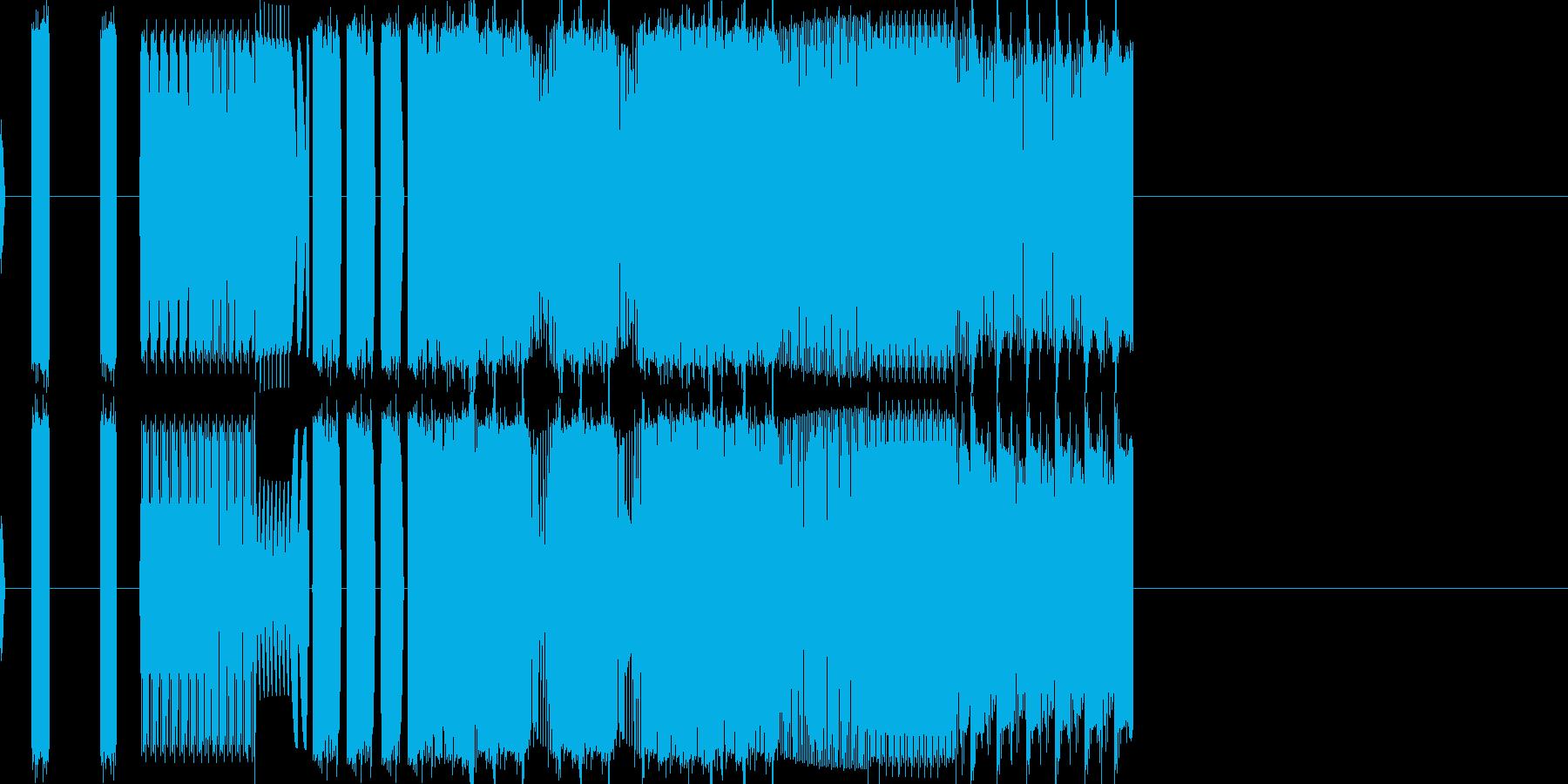 バグ bug 音 (pc AI 機械)の再生済みの波形