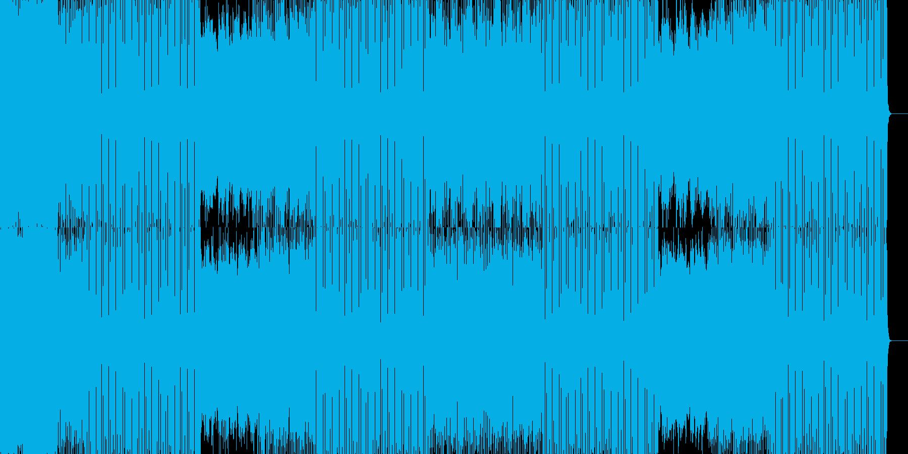疾走感のある戦闘向きストリングスとEDMの再生済みの波形