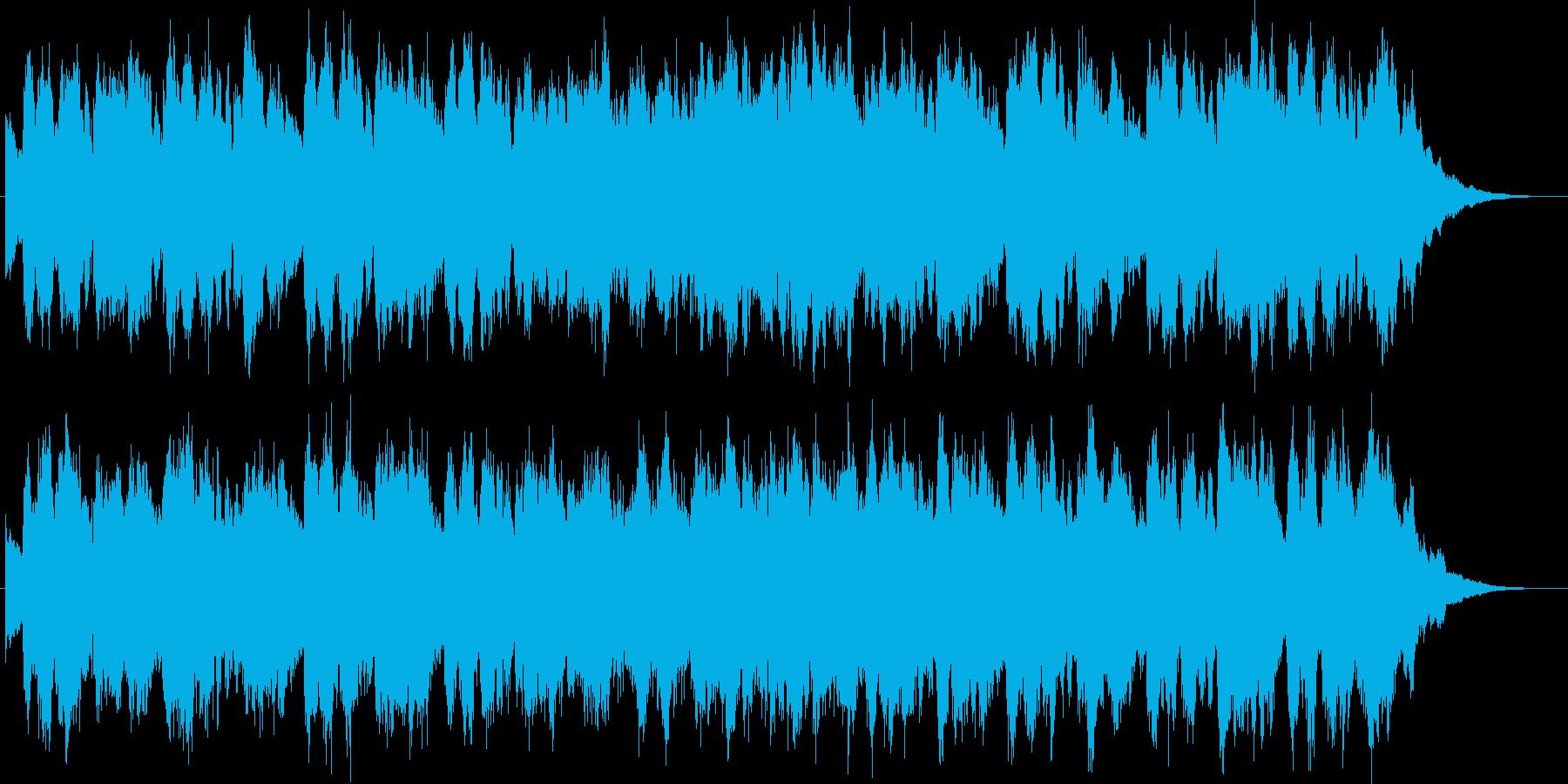 シンセブラスが印象的なジングルの再生済みの波形