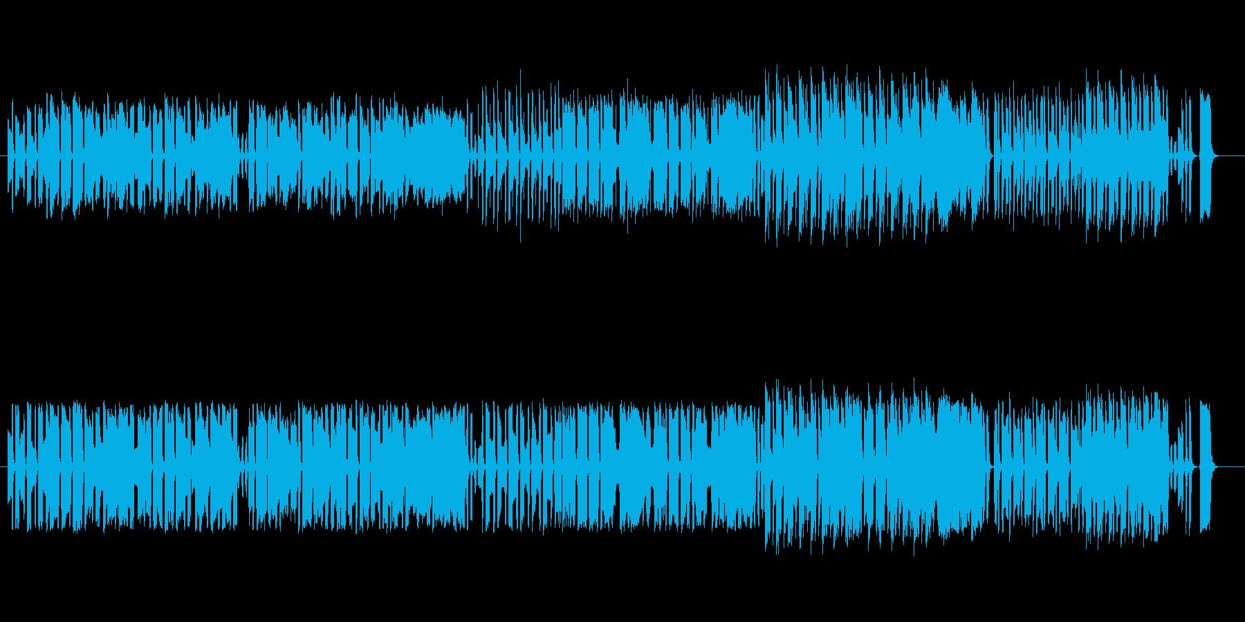 アコーディオン ゆるいワルツの再生済みの波形