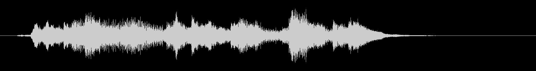 不思議なハープのグリッサンド の未再生の波形