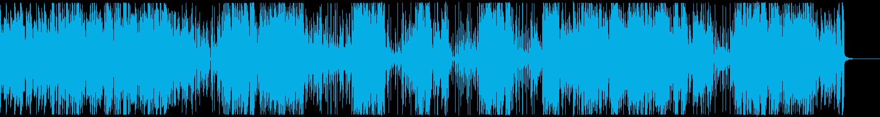 ビバップ・ジャズ/サックス伴奏の再生済みの波形