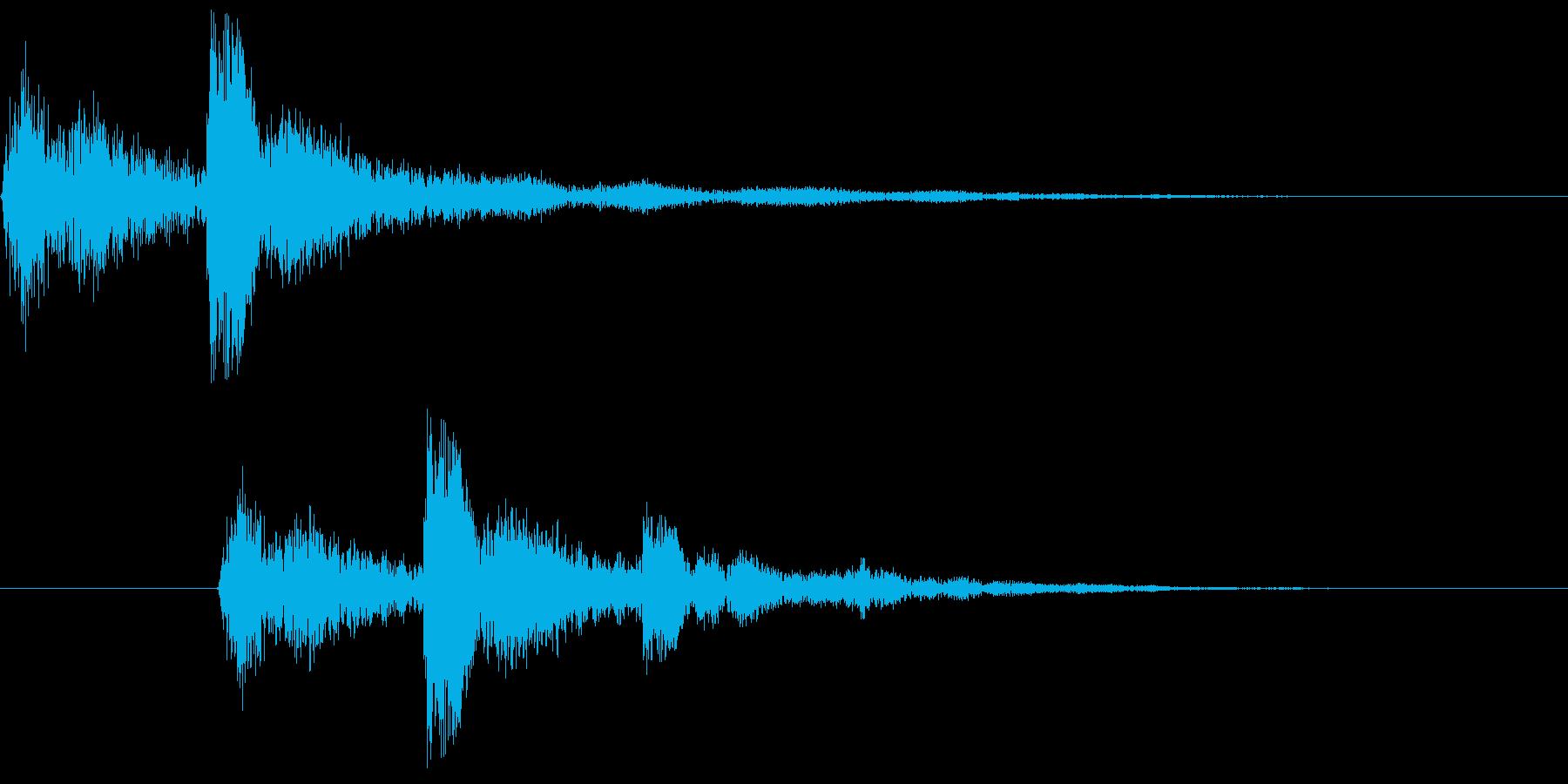 ホラー、サスペンスなどをイメージしまし…の再生済みの波形