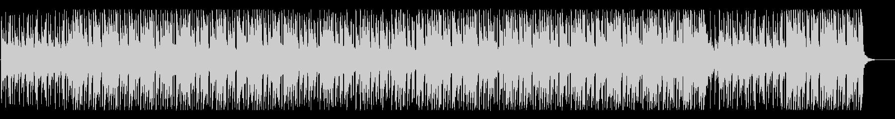 どこか幻想的なゆったりとしたBGMの未再生の波形