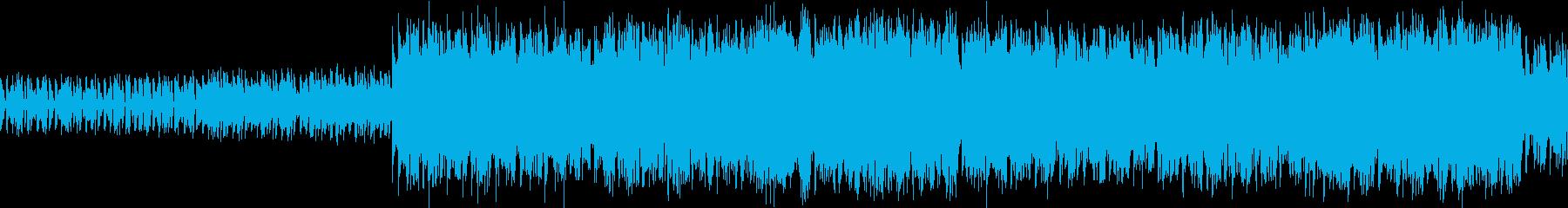 レトロなRPGバトル、ボスバトルループの再生済みの波形