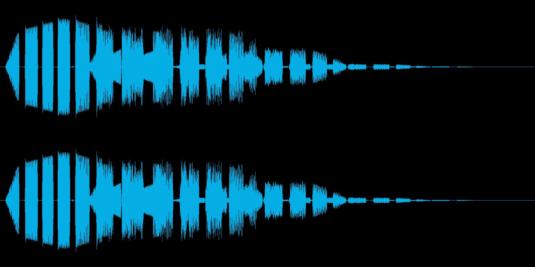 ピロピロピロ(ミラクルな効果音)の再生済みの波形